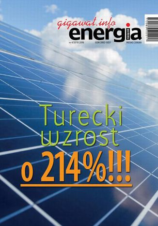 Okładka książki/ebooka Energia Gigawat nr 4/2018 (209)
