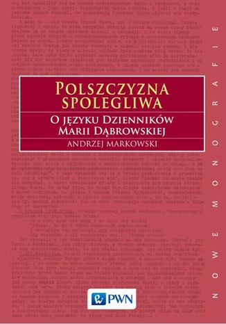 Okładka książki/ebooka Polszczyzna spolegliwa