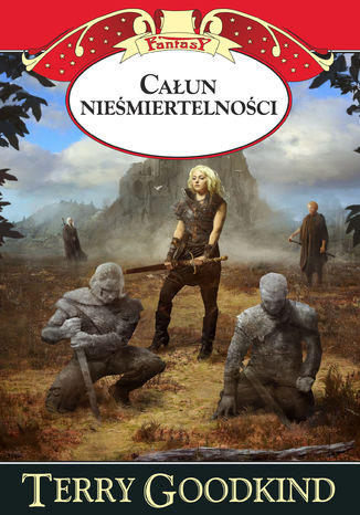 Okładka książki/ebooka Kroniki Nicci (Tom 2). Całun nieśmiertelności