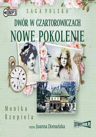 Okładka książki Dwór w Czartorowiczach Nowe pokolenie