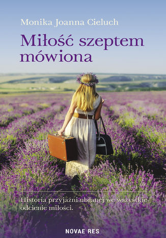 Okładka książki/ebooka Miłość szeptem mówiona