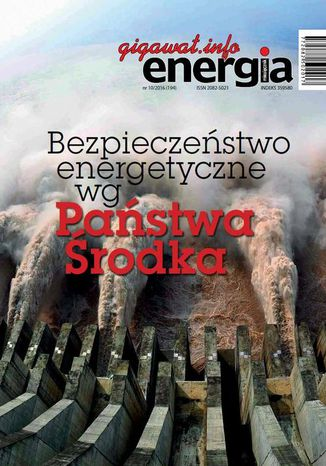 Okładka książki Energia Gigawat nr 10/2016