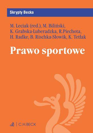 Okładka książki/ebooka Prawo sportowe
