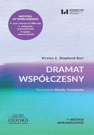 Okładka książki/ebooka Dramat współczesny. Krótkie Wprowadzenie 17