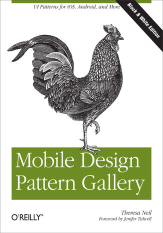Okładka książki/ebooka Mobile Design Pattern Gallery. UI Patterns for Mobile Applications