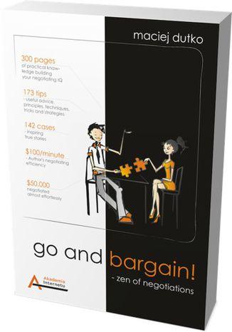 Okładka książki Go and bargain! Zen of negotiations (Targuj się! Zen negocjacji)