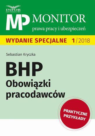 Okładka książki BHP Obowiązki pracodawców