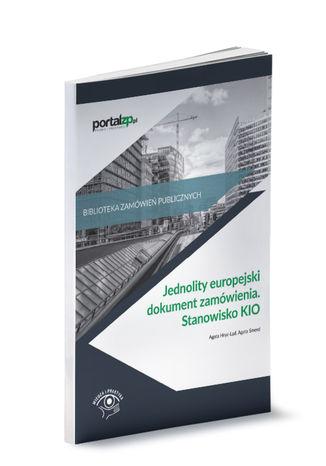 Okładka książki/ebooka Jednolity europejski dokument zamówienia. Stanowisko KIO