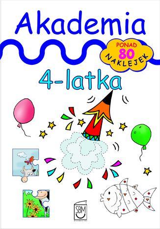 Okładka książki/ebooka Akademia 4-latka