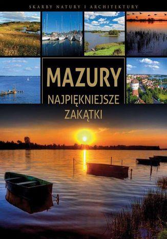 Okładka książki Mazury. Najpiękniejsze zakątki