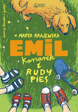 Okładka książki Emil, kanarek i rudy pies