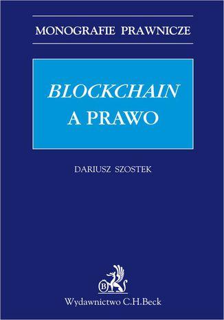 Okładka książki/ebooka Blockchain a prawo