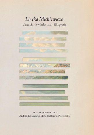 Okładka książki Liryka Mickiewicza