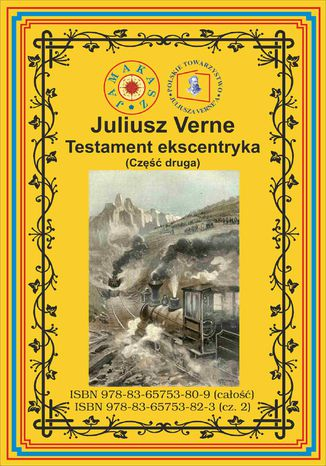 Okładka książki/ebooka Testament ekscentryka. Część 2