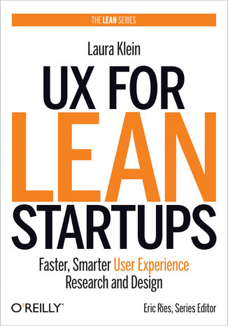 Okładka książki/ebooka UX for Lean Startups. Faster, Smarter User Experience Research and Design