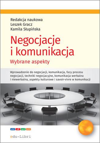 Okładka książki Negocjacje i komunikacja