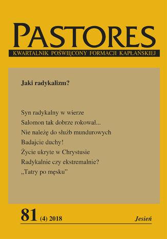 Okładka książki Pastores 81 (4) 2018