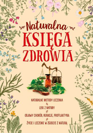 Okładka książki Naturalna księga zdrowia