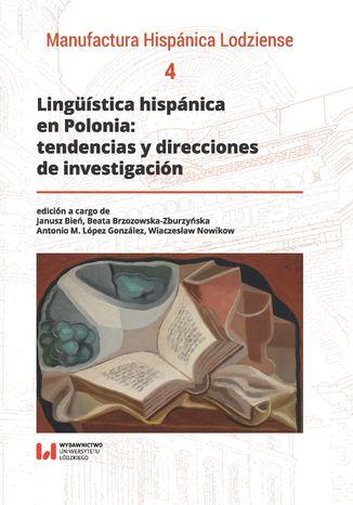 Okładka książki Lingüística hispánica en Polonia: tendencias y direcciones de investigación