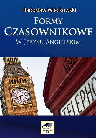 Okładka książki Formy czasownikowe w języku angielskim