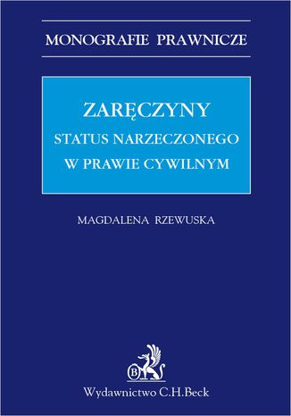 Okładka książki/ebooka Zaręczyny. Status narzeczonego w prawie cywilnym