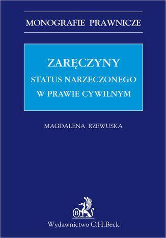 Okładka książki Zaręczyny. Status narzeczonego w prawie cywilnym