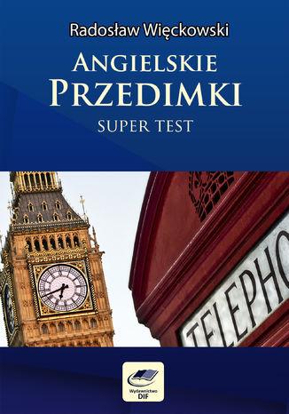 Okładka książki Angielskie przedimki - Super test