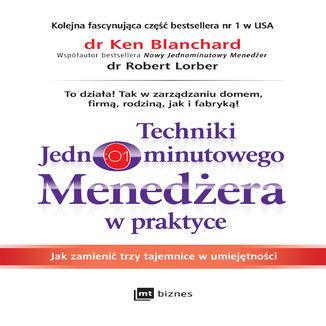 Okładka książki Techniki Jednominutowego Menedżera w praktyce