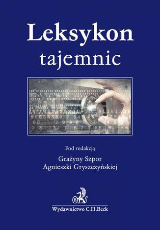 Okładka książki Leksykon tajemnic