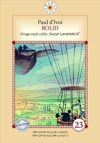 Okładka książki Kuzyn Lavarede'a. Część II. Bolid
