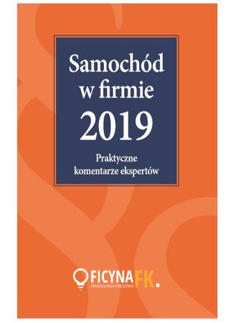 Okładka książki Samochód w firmie 2019