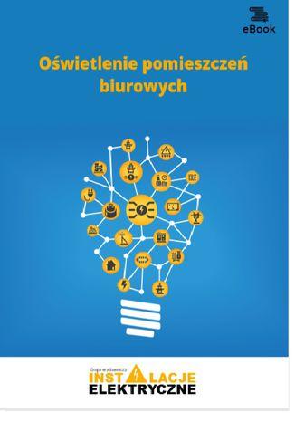 Okładka książki Oświetlenie pomieszczeń biurowych