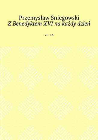 Okładka książki ZBenedyktem XVI na każdy dzień
