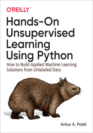 Okładka książki/ebooka Hands-On Unsupervised Learning Using Python. How to Build Applied Machine Learning Solutions from Unlabeled Data
