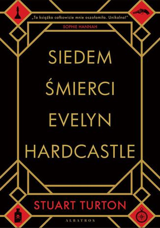 Okładka książki Siedem śmierci Evelyn Hardcastle