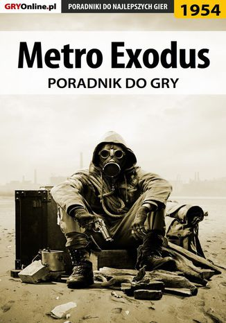 Okładka książki Metro Exodus - poradnik do gry
