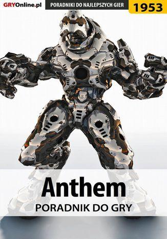 Okładka książki/ebooka Anthem - poradnik do gry