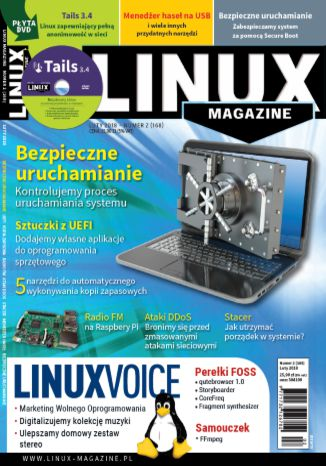 Okładka książki/ebooka Linux Magazine 2/2018 (168)