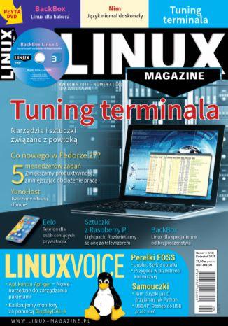 Okładka książki/ebooka Linux Magazine 4/2018 (170)