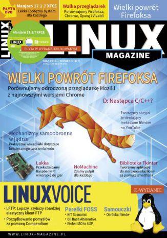 Okładka książki/ebooka Linux Magazine 05/2018 (171)