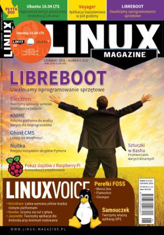 Okładka książki/ebooka Linux Magazine 06/2018 (172)