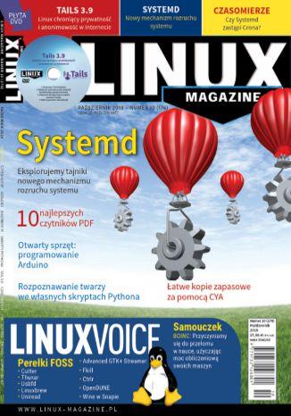 Okładka książki Linux Magazine 10/2018 (176)