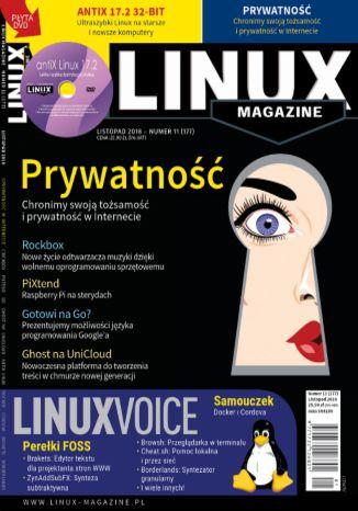 Okładka książki Linux Magazine 11/2018 (177)