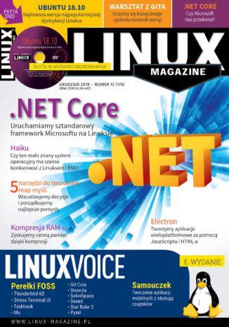 Okładka książki Linux Magazine 12/2018 (178)