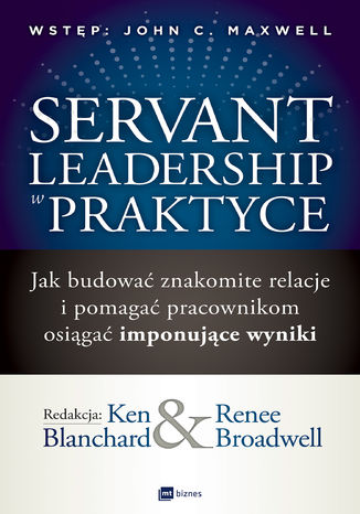 Okładka książki/ebooka Servant Leadership w praktyce