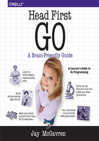 Okładka książki/ebooka Head First Go
