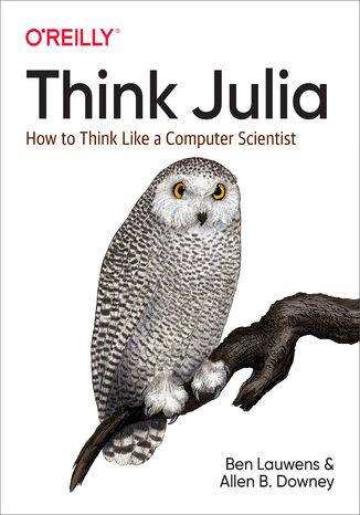 Okładka książki Think Julia. How to Think Like a Computer Scientist