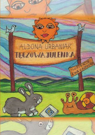 Okładka książki/ebooka Tęczowa Julenka