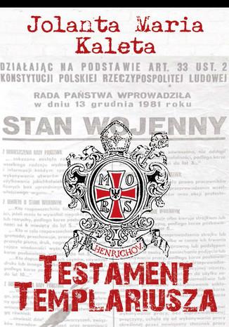 Okładka książki/ebooka Testament Templariusza