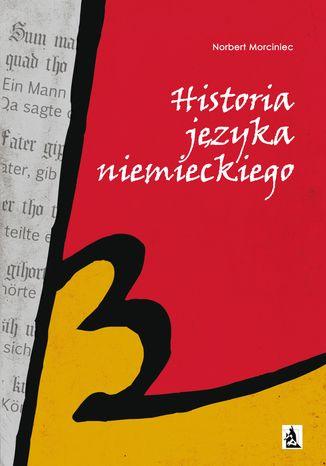 Okładka książki/ebooka Historia języka niemieckiego